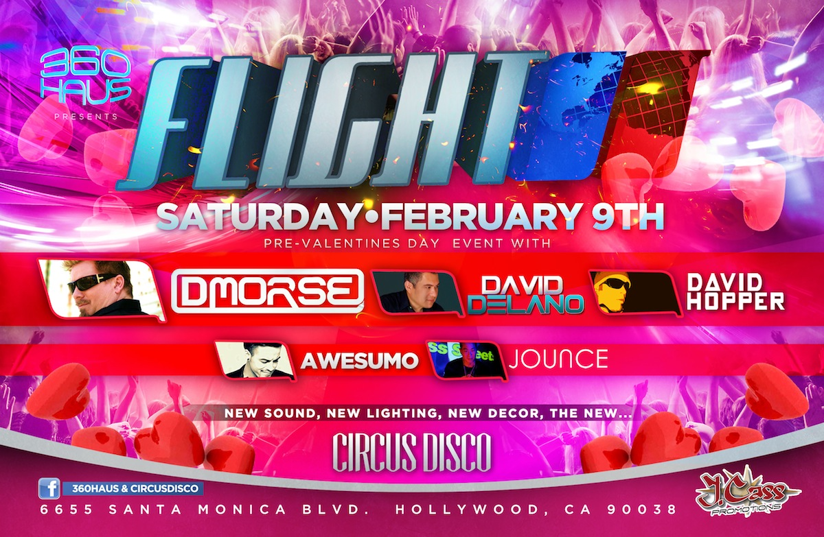 Circus Disco-Dj Jounce-Hollywood CA